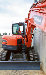 Mini pelle Doosan DX 85 R-3 - 8