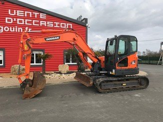 Mini pelle Doosan DX85R-3 - 4
