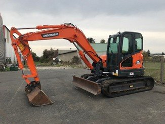 Mini pelle Doosan DX85R-3 - 3