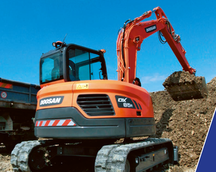 Mini pelle Doosan DX 85 R-3 - 1