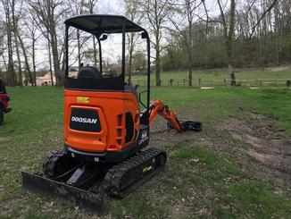 Mini pelle Doosan DX 17 Z - 2
