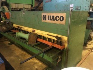 Cisaille guillotine Haco TS306 - 1