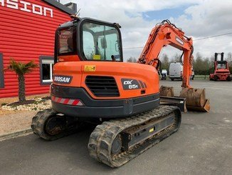Mini pelle Doosan DX85R-3 - 6