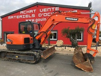 Mini pelle Doosan DX85R-3 - 5