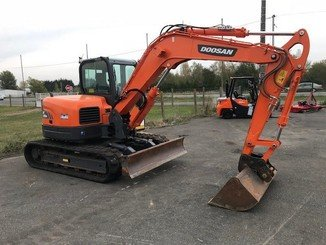 Mini pelle Doosan DX85R-3 - 2