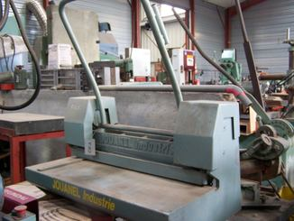 Cisaille guillotine Jouanel CGM 600/15 - 1