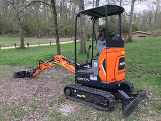 Mini pelle Doosan DX 17 Z - 1