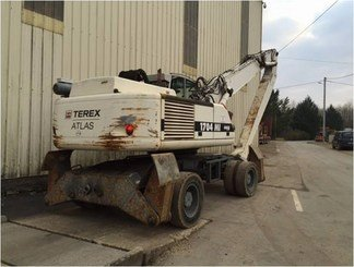 Pelle de manutention Terex 1704 MI - 4