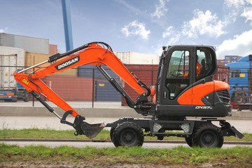 Mini pelle Doosan DX57W-5 - 5